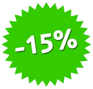 sconto 15%